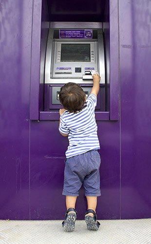 Откуда деньги в банкомате